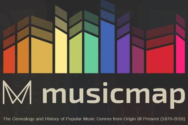 Musicmap, el Atlas online de la música popular planetaria