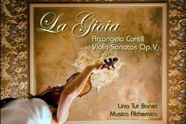 """""""La Gioia"""" Nuevo trabajo de Lina Tur con música de Corelli"""