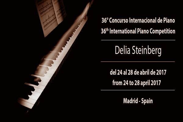 36° Concurso Internacional de Piano DELIA STEINBERG