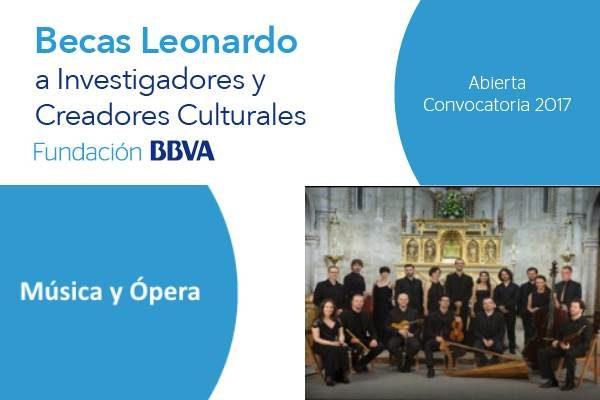 Becas Leonardo de Música y Ópera. Fundación FBBVA