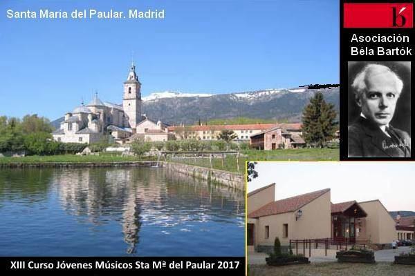 """XIII Curso para Jóvenes Músicos """"Santa María del Paular"""", 2017"""