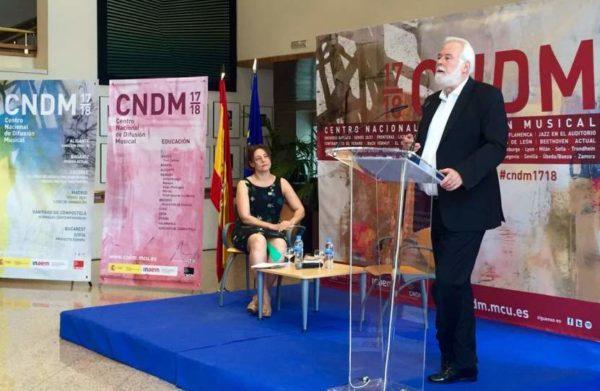 El aragonés Jesús Torres será Compositor Residente la próxima temporada del CNDM 2017/18