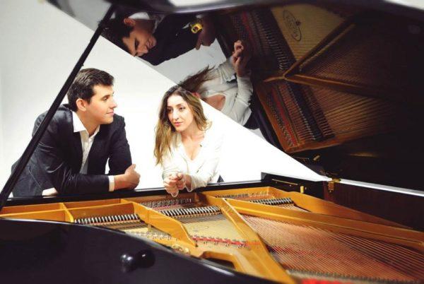 El dúo pianístico Dolgov -León 2º Premio en el Concurso Internacional Antón García Abril