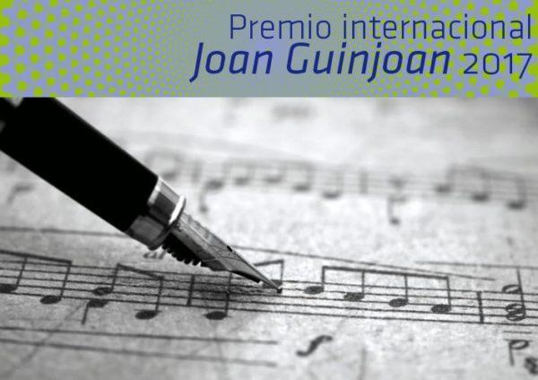 Premio Internacional Joan Guinjoan para a Jóvenes Compositores 2017