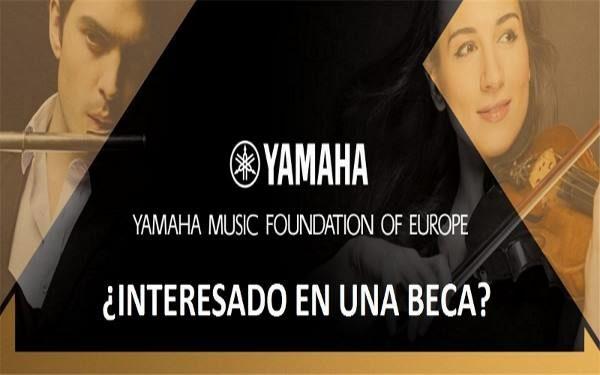Nueva Edición Becas FUNDACIÓN YAMAHA, especialidad CLARINETE