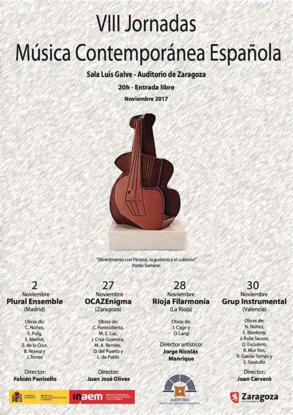 VIII Jornadas de Música Contemporánea Española: Sala Galve 2/30 N