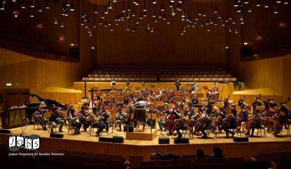 Plazas en la Joven Orquesta de Bandas Sonoras