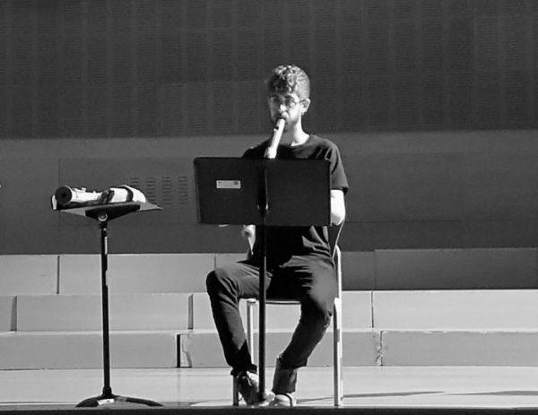 Arturo Peinado alumno del CSMA primer premio en el Festival Internacional de Flauta de Pico en Tela Aviv.