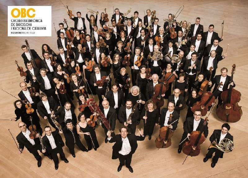 5 Plazas en la Orquestra Simfònica de Barcelona i Nacional de Catalunya