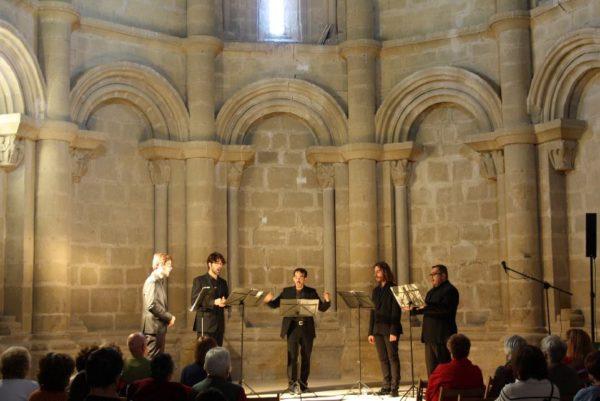"""Presentación del disco """"Via crucis"""" de la Schola Cantorum Paradisi Portae"""