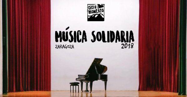 Ciclo Moncayo de Música Solidaria. De Abril a Diciembre de 2018