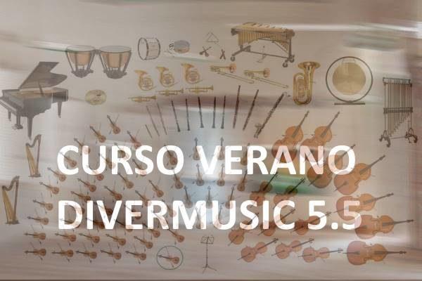 Cursos de verano DIVERMUSIC 5.5