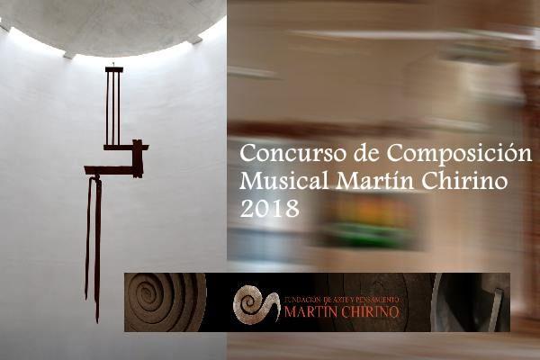 Concurso de Composición Musical Martín Chirino 2018