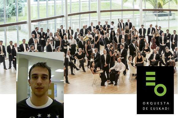 Héctor Marqués Marqués es el nuevo timbal solista de la Orquesta Sinfónica de Euskadi OSE