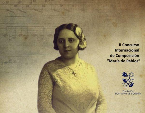 """II Concurso Internacional de Composición """"María de Pablos"""""""