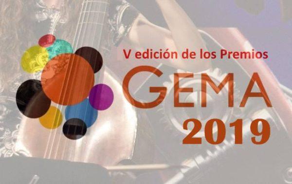 Presentados los candidatos a los Premios Gema 2019