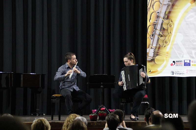 """Dúo Xistra ganadores del Concurso Internacional de Música de Cámara """"Ciutat de Vinaros"""""""