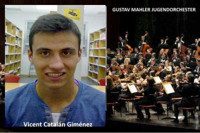 Vicent Catalán Giménez  titular de laGustav Mahler Jugendorchester2020