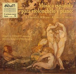 Música española para violonchelo y piano. CD nº 36 de El Patrimonio Musical Hispano