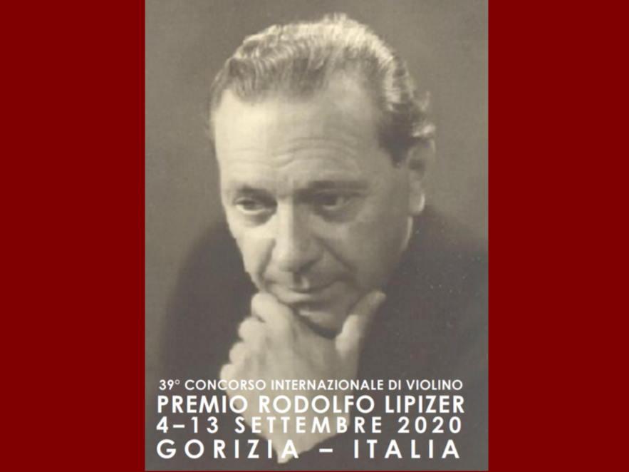 """39º Concurso Internacional de Violín """"PREMIO RODOLFO LIPIZER"""" 4-13 Septiembre 2020."""