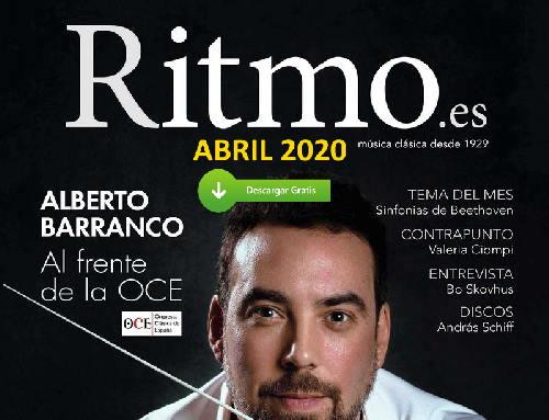 Quédate en casa, descarga y lee gratis la revista RITMO de abril