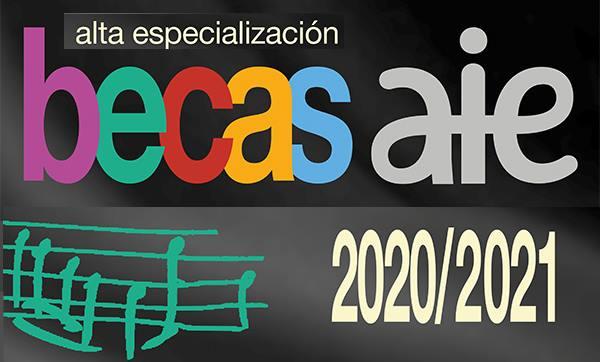 CONVOCATORIA BECAS AIE 2020/2021