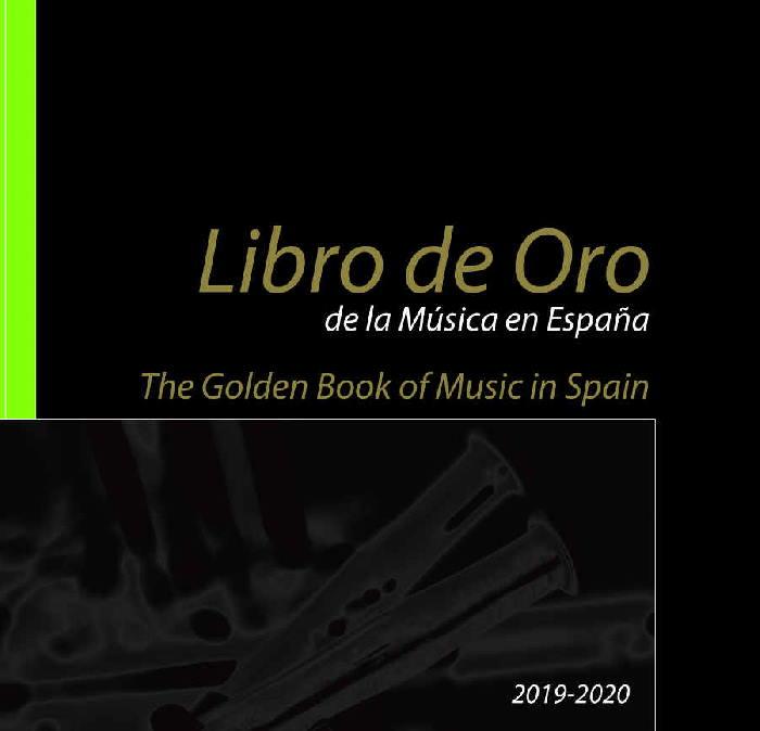 Disponible gratuitamente la versión online del Libro de Oro de la Música en España 2019-2020