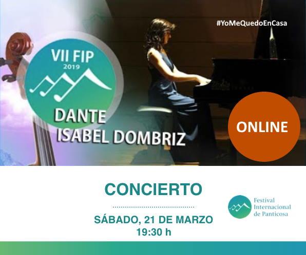 El Festival Internacional de Panticosa se suma al #YoMeQuedoEnCasa con varios conciertos online