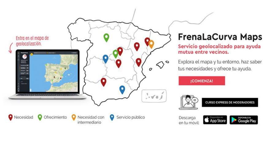 """#FrenaLaCurvaMAPS / """"Funcionarios de guardia"""" para ayudar en la lucha contra el Covid-19"""
