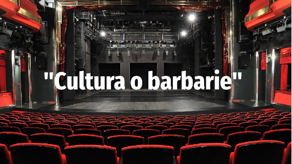 """""""Cultura o barbarie"""", carta abierta de 90 premios nacionales a los responsables de cultura en España"""