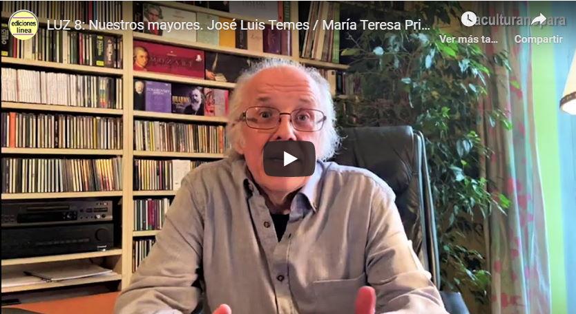 Estreno en linea del LUZ 8 dentro del Proyecto Luz que difunde el patrimonio sinfónico español