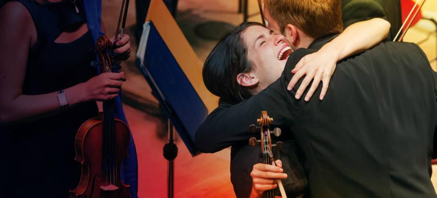 Audiciones de la Joven Orquesta de la Unión Europea (EUYO) en 2020