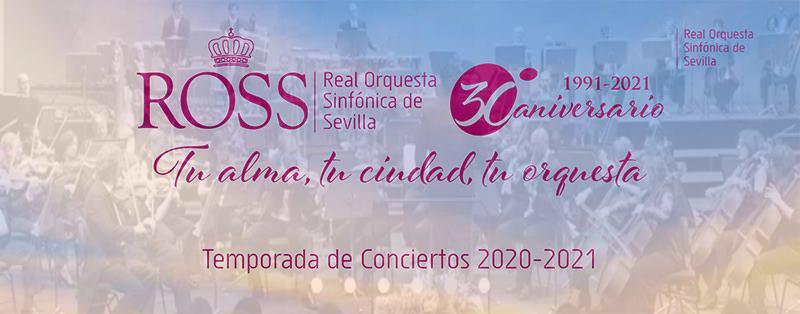 Plaza de concertino temporal en la Real Orquesta Sinfónica de Sevilla