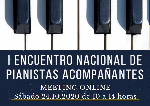 I ENCUENTRO NACIONAL DE PIANISTAS ACOMPAÑANTES