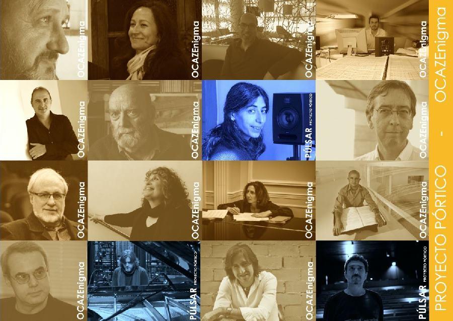 Proyecto Pórtico de OcazEnigma,  nueva plataforma de promoción de música contemporánea