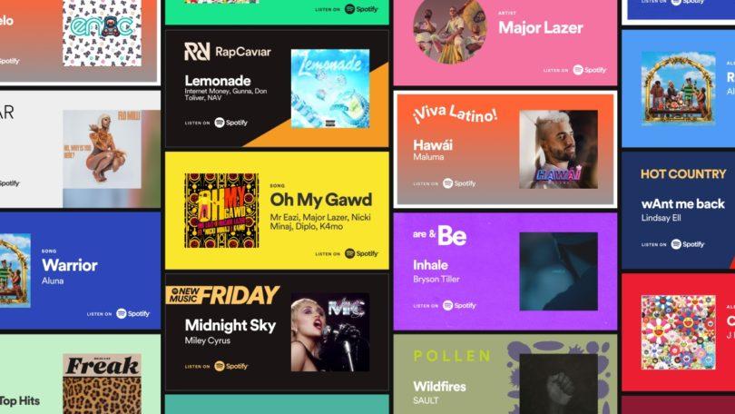 """Spotify Lanza """"Promo Cards"""" Nuevo Formato para Promocionar Música"""