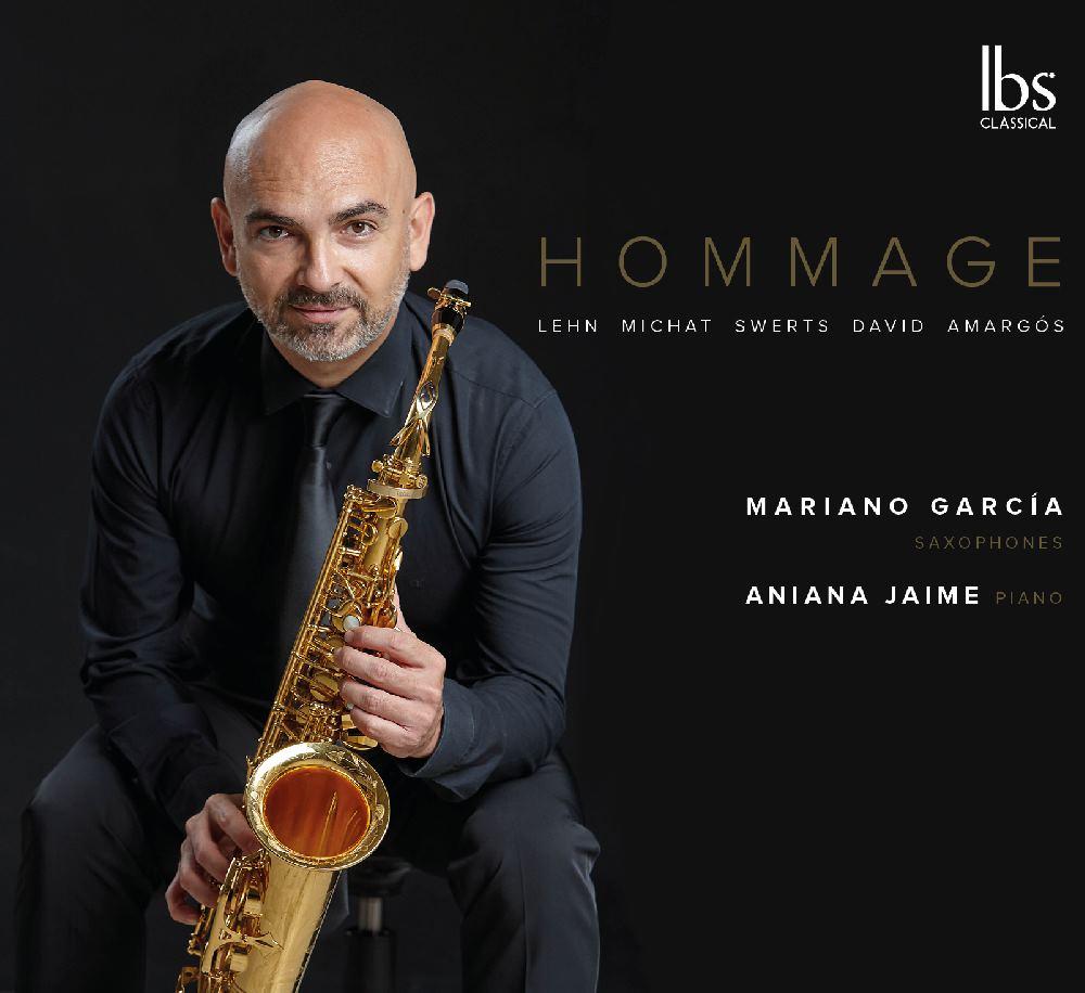 """""""Hommage"""" es el último trabajo del saxofonista Mariano García ylos pianistas Aniana Jaime y Takiro Mita"""
