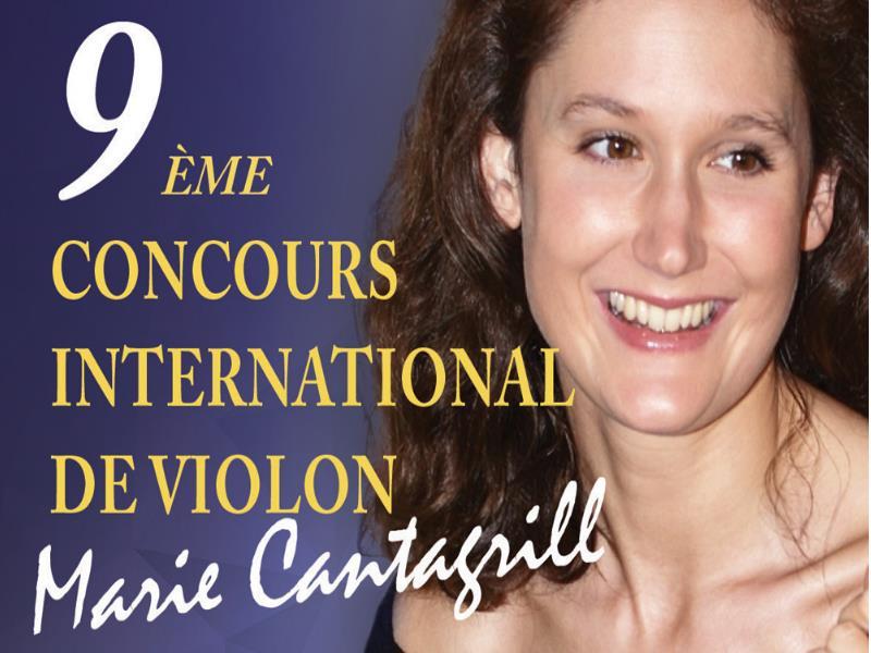 "IX Concurso Internacional de violín 2021 ""Marie Cantagrill"""