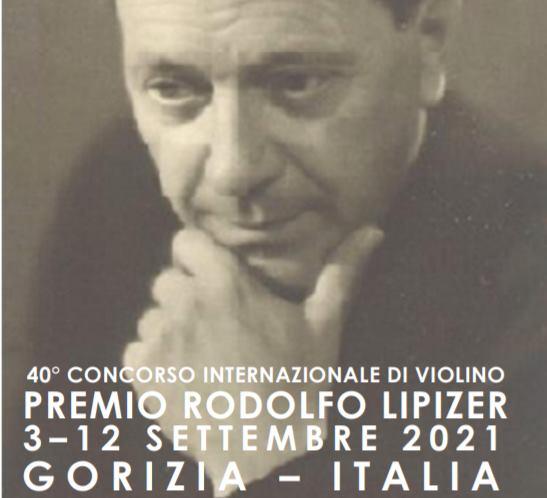 """40º Concurso Internacional de Violín """"PREMIO RODOLFO LIPIZER"""" 4-13 Septiembre 2020."""