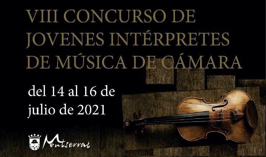 VIII CONCURSO DE JÓVENES INTÉRPRETES DE MÚSICA DE CÁMARA