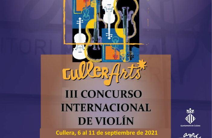 III Concurso Internacional de violín CullerArts 2021