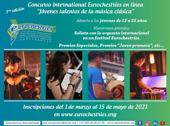 Eurochestries International. concurso de jóvenes talentos de la música clásica