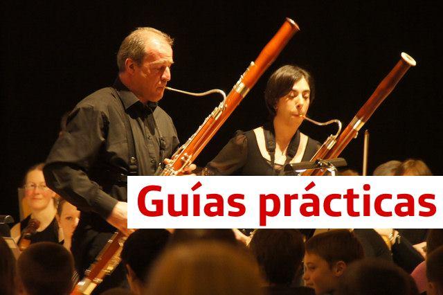 Guías prácticas de trompa, clarinete y fagot